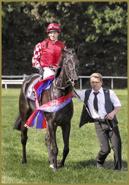 Großer Sieg für Peace Royale im Schwarzgold-Rennen 2008