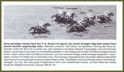 Bol d´Or im Preis von Schönbrunn
